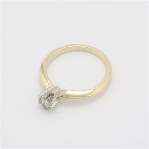 pre owned 14 karat yellow gold diamond engagement set pre owned 14 karat yellow gold diamond engagement ring