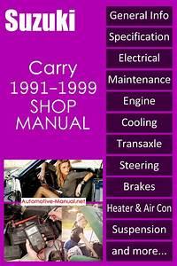Suzuki Carry Service Repair Manual 1991