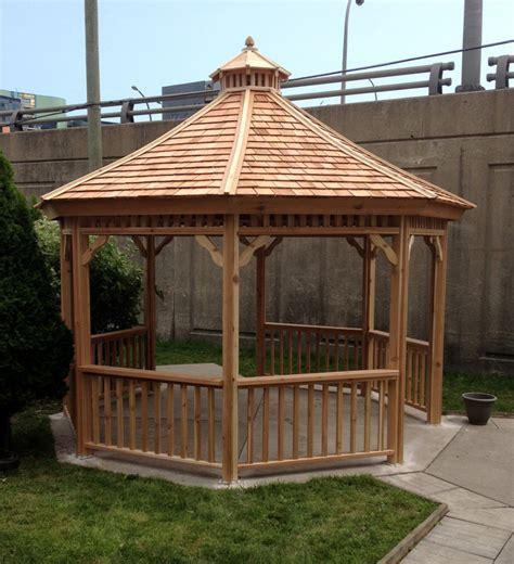 gazebos  pavilions cedar wood structures