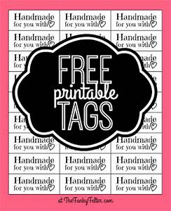 the funky felter free printable quothandmade for you with With handmade for you labels