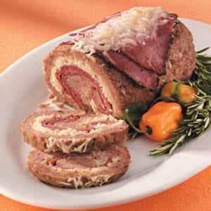 Rolled Reuben Meat Loaf Recipe My Cooking World