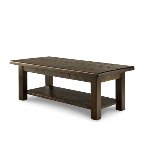 how should a coffee table be rustic coffee table
