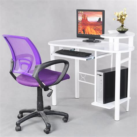 high quality purple office computer chair with arms with