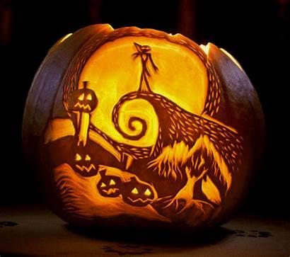 Giphy Jack Pumpkin Carving Lantern Gifs Nightmare