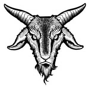 Demon Goat Head Drawings