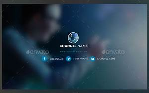 22 youtube channel art templates free sample example format download free premium templates for Youtube channel art downloads