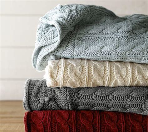 Pottery Barn Cable Knit Throw by Cable Knit Throw From Pottery Barn New Haus