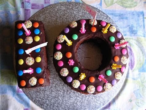 hallowed turning  birthday cakes photo  year