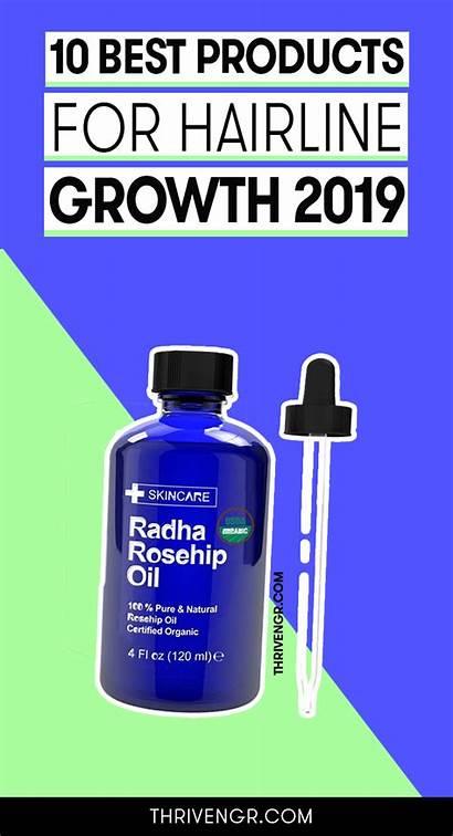Hairline Growth Loss Fertilizer Thrivengr Shampoos Oil