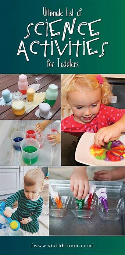 Science Toddlers Activities Toddler Experiments Steam Preschoolers