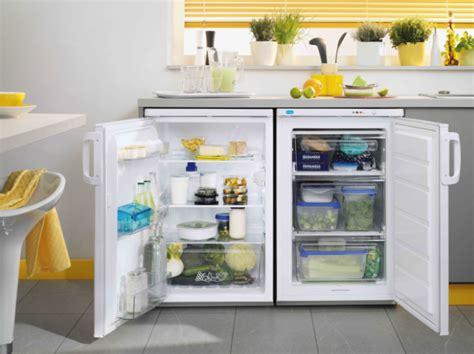 zanussi  counter fridge  freezer mess hall