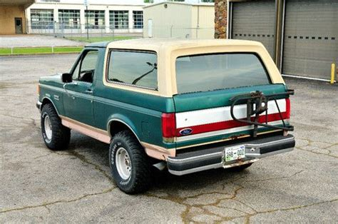 small engine maintenance and repair 1988 ford bronco ii free book repair manuals sell used 1988 ford bronco in dyersburg tennessee united states for us 5 550 00
