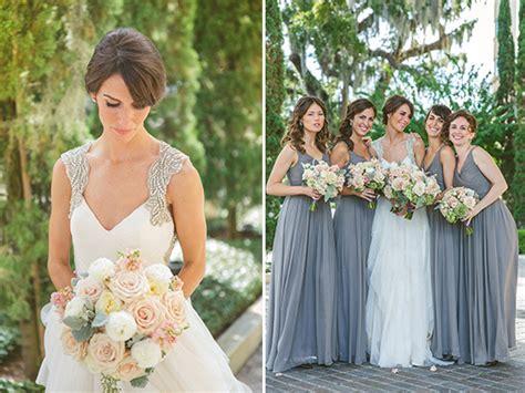 shabby chic bridesmaids modern shabby chic wedding