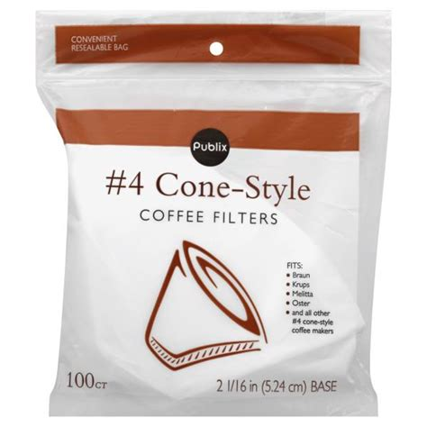 Of the 130 new cafe locations across the southeast, winter garden and bradenton will be the first stores to offer the local product. Publix Coffee Filters, No. 4 Cone-Style - Be My Shopper