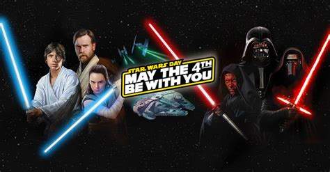 May the 4th be with you! : StarWars