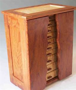 Necklace Holder Beautiful Handmade Armoire Jewelry Box of