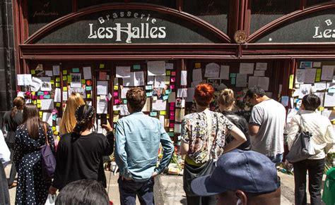 anthony bourdain memorial grows  brasserie les halles