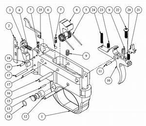 Jard Adjustable Ruger 10  22 Trigger Assembly Black