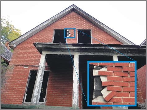 residential faux red brick asbestos siding