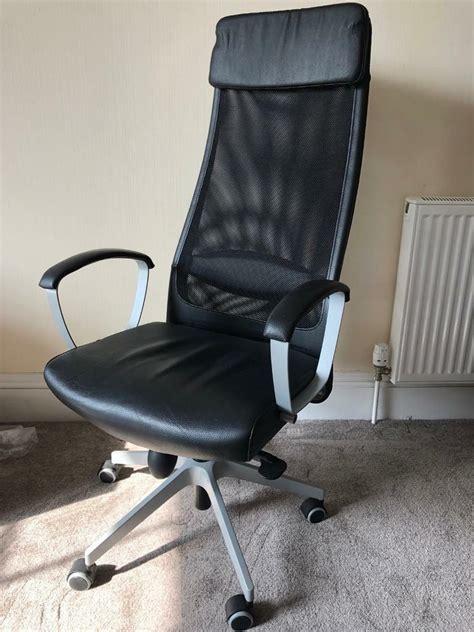 Office Chairs Gumtree by Ikea Markus Swivel Office Chair In Grassmarket