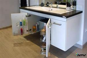 salle de bains adaptee pour personne handicapee pmr With meuble salle de bain pour personne a mobilite reduite
