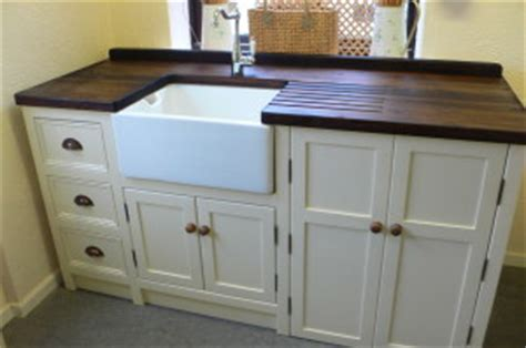 belfast sink kitchen unit belfast sink unit with worktop and appliance cupboard 4411