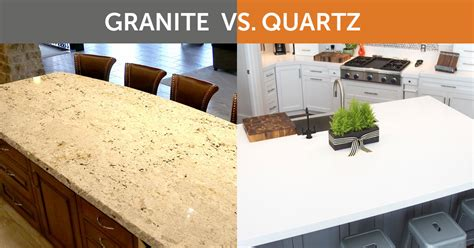 Vs Granite by Evolution Design Should I Choose Granite Or Quartz For