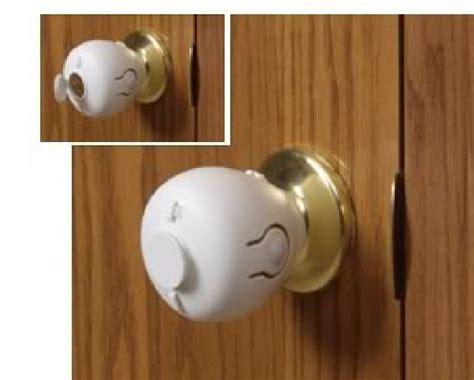 child proof door locks s helper door knob child safety covers 2 pack ebay