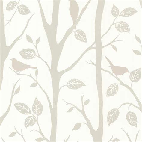 Brewster Home Fashions  Corwin Gray Bird Branches