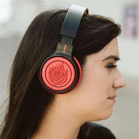 ruby rose headphones rwby ruby rose bluetooth headphones rooster teeth store