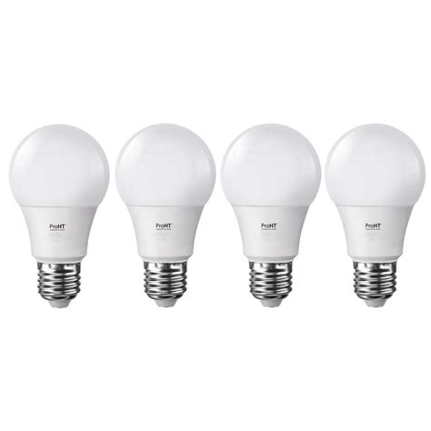 proht 60 watt equivalent soft white dimmable e26 led