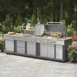 prefab kitchen islands master forge modular outdoor kitchen set lowe 39 s canada
