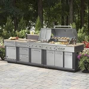 Master Forge Modular Outdoor Kitchen Set