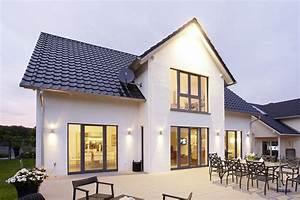 Haus Mit Satteldach : individuelles einfamilienhaus mit 4 kinderzimmern modell lengfeld ein fertighaus von gussek haus ~ Watch28wear.com Haus und Dekorationen
