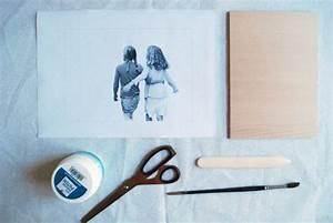 Foto Transfer Holz : philuko stay oder ein bild auf holz zum abschied diy kreativ bastelideen aus dies und das ~ Buech-reservation.com Haus und Dekorationen