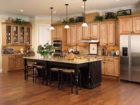 madison maple honey chocolate kitchen cabinets with miland