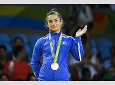 Majlinda Kelmendi of Kosovo wins Gold in Women's 52 kg