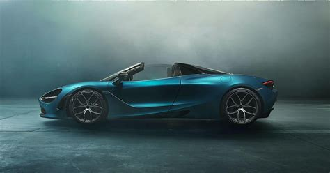 mclaren  spider  britains newest  mph