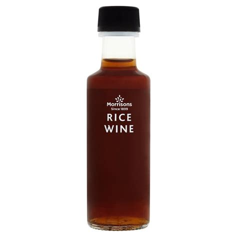 rice wine morrisons morrisons rice wine 100ml product information