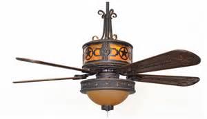 Ceiling Fan Blade Covers by Cc Kvshr Brz Lk515 Stz Stars Western Ceiling Fan