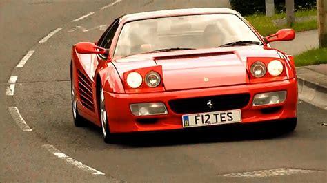The paris motor show in october 1984 saw the return of the glorious testarossa as heir to the 512 bbi. Ferrari Testarossa driveby - YouTube