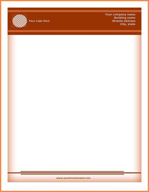 free company letterhead template 5 letterhead templates company letterhead