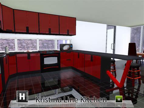 Mod The Sims  Kristina Line Kitchen