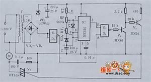 Electric Fan Natural Wind Control Circuit Diagram