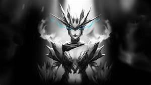 Full HD Wallpaper dota 2 crystal maiden art haze energy ...