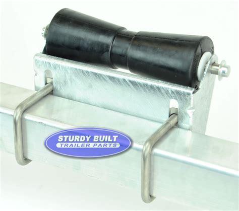 Boat Trailer Rollers 12 inch black rubber keel roller for boat trailer