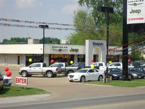 kasper chrysler dodge jeep car dealership  sandusky