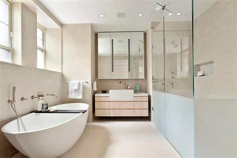 Articles about collection/bathroom on apartment therapy, a lifestyle and interior design community with tips and expert advice on creating happy, healthy homes for everyone. Modern interior design of a duplex apartment in New York