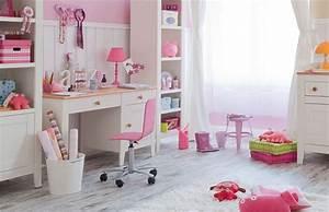 Bureau Chambre Fille : meuble chambre enfant bureau enfant design magnolia marque vox ~ Teatrodelosmanantiales.com Idées de Décoration