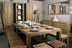 table a manger teck With meuble salle À manger avec salle a manger en teck